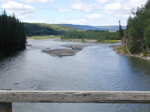 Graham River, Halfway, Peace River Regional District