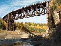 Kiskatinaw Bridge, Peace River Regional District