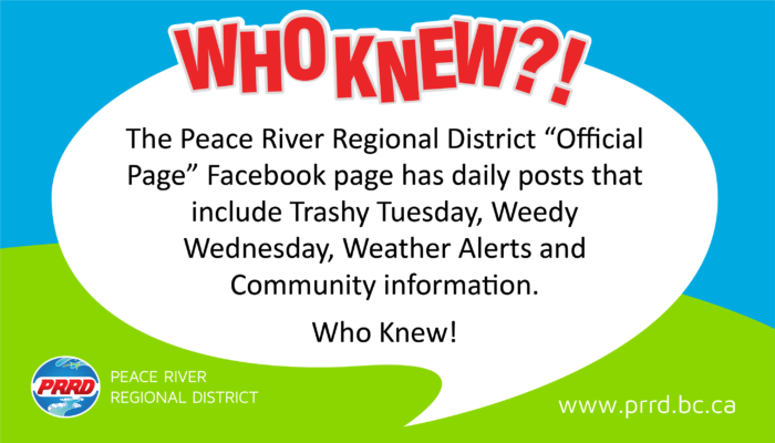 Welcome - Peace River Regional DistrictPeace River Regional